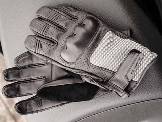 Glove - AirFlow Gloves - Black - by BMW - 76218547643