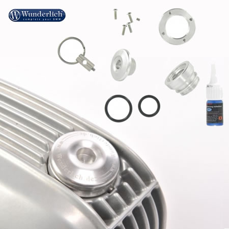 Oil Filler Plug - Dry Safe Oil Filler Plug Kit - by Wunderlich - 8500064