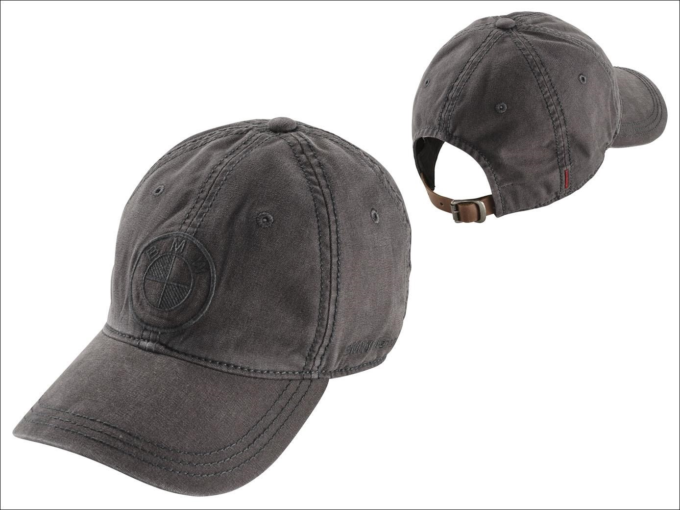 BMW Grey Logo Adventure Cap - 76898352727