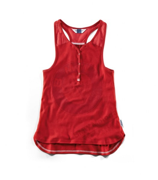 BMW Womens Tank Top - Red