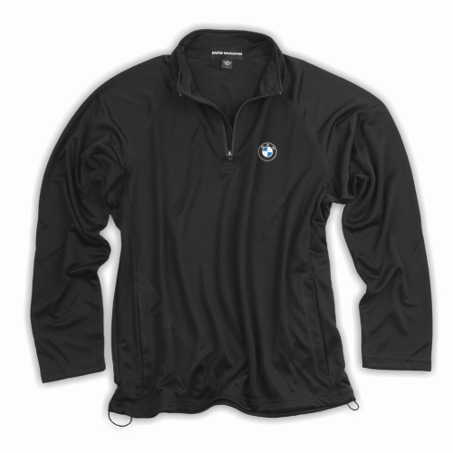 BMW Mens Long Sleeve Pullover - Black - 72602414079
