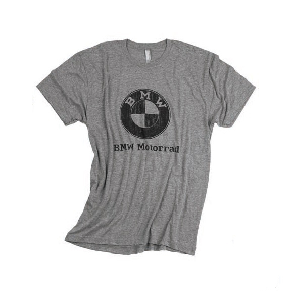 BMW Mens Vintage Distressed T-Shirt - 72602414059