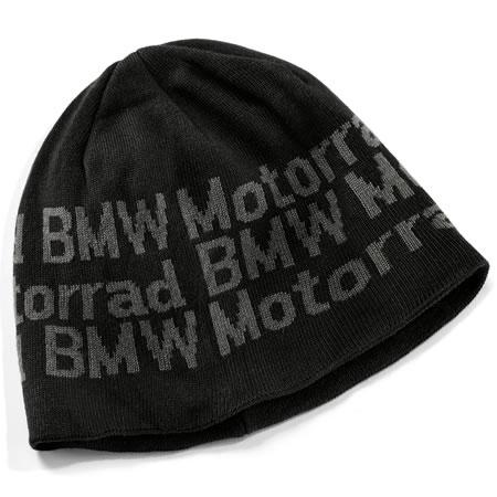 BMW Motorrad Knitted Beanie - Black - 76898352873