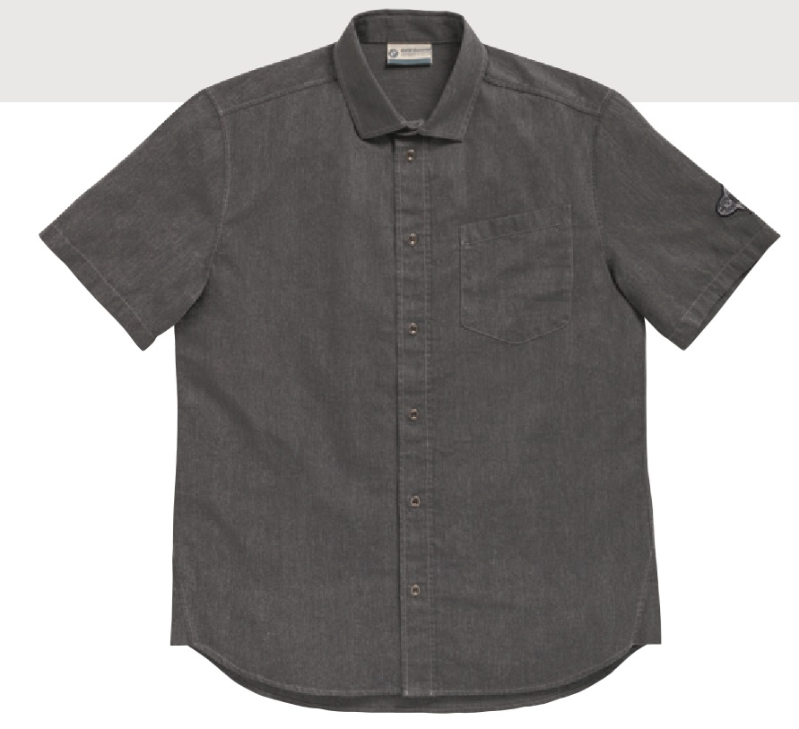 BMW Motorrad Mens Short Sleeve Gas Shirt - 76898395764