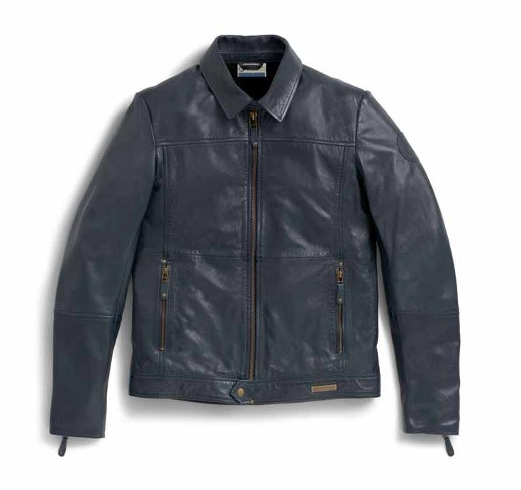 BMW Motorrad Mens Style Leather Jacket - 76898402082