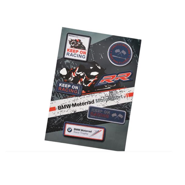 BMW Motorsport Sew-on Patch Set - 76628560970