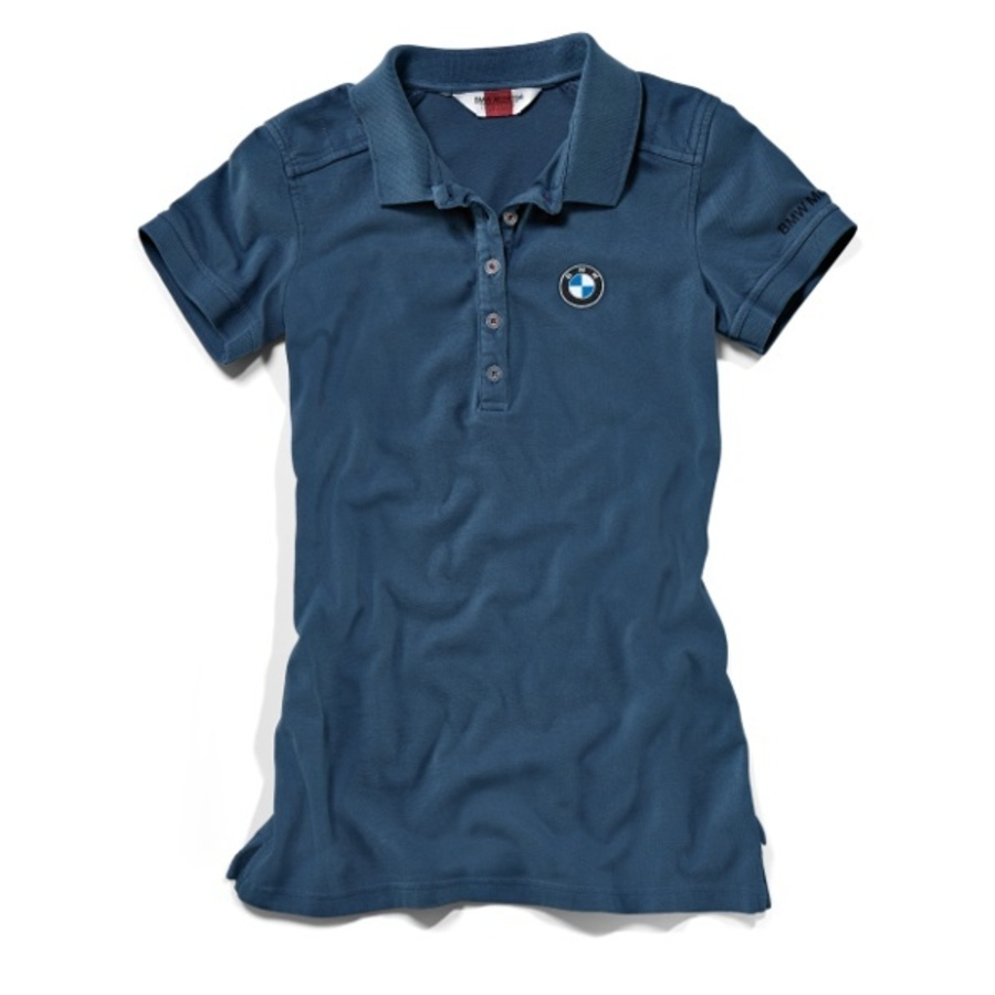 BMW Womens Polo Shirt - Blue