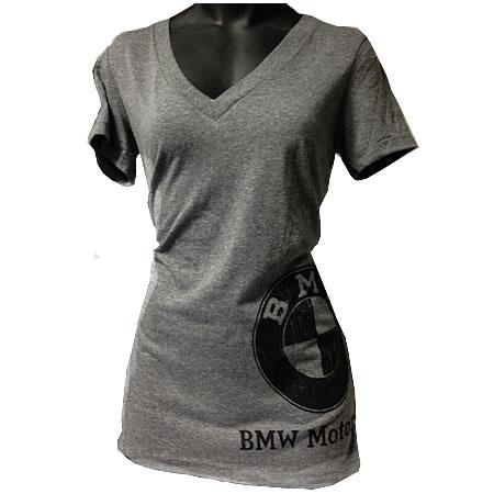 BMW Womens Vintage Distressed T-Shirt - 72602414064