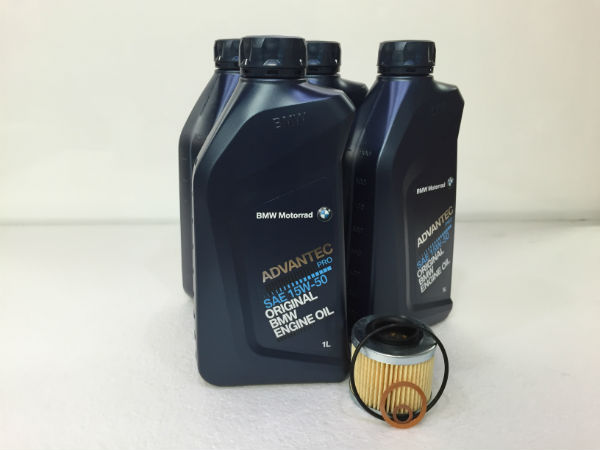 "Oil Change Kit - Basic/Recommended - ""650"" Single Cylinder Fuel Injected Bikes"
