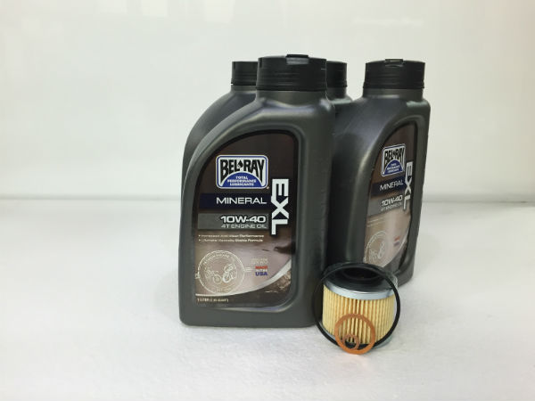 "Oil Change Kit - Basic/Alternate - ""650"" Single Cylinder Fuel Injected Bikes"