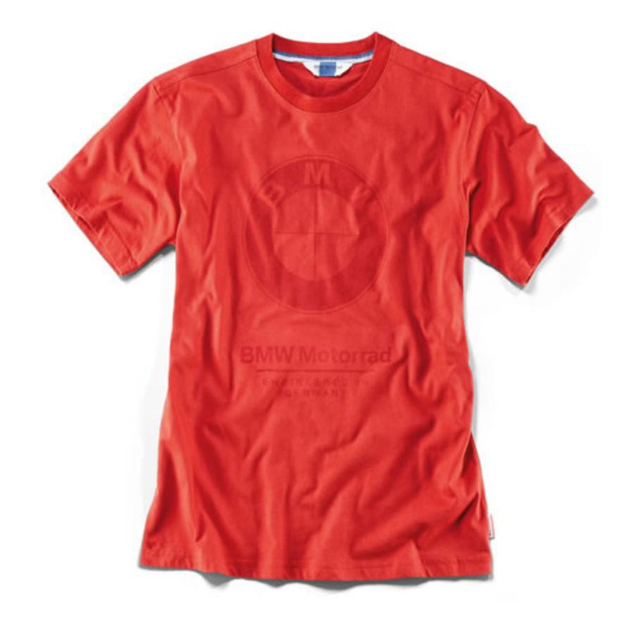 Mens BMW Logo T-Shirt - Red