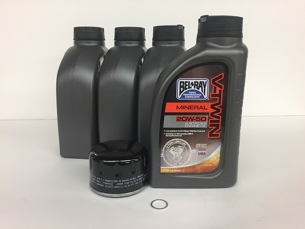 Oil Change Kit - Basic/Alternate - R12x Bikes Air/Oil Cooled