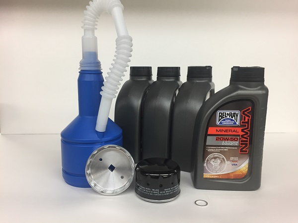 Oil Change Kit - Deluxe/Alternate- R12x Bikes Air/Oil Cooled