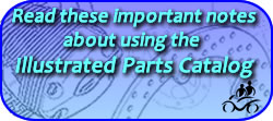 Important notes about using the Illustrated Parts Catalog