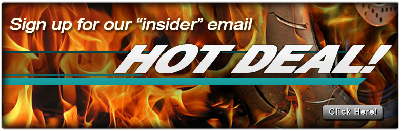 Hot Deal Newsletter Sign Up.