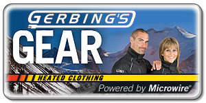 Click here to search all of the Gerbing's Heated Motorcycle Apparel / Clothing we sell here at A&S BMW Motorcycle Parts Online!