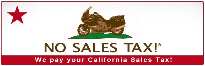 We pay your California Sales Tax this year!
