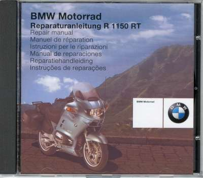 BMW Factory Repair Manual on CD-ROM - BMW R1150RT - 01597721692