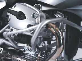 Crash Bars - 2005-13 Air/Oil-Cooled BMW R1200GS - by Touratech