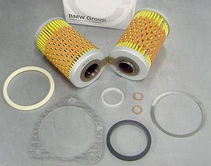 Oil Filter Kit - BMW OEM - W/ Oil Cooler - 11009056146
