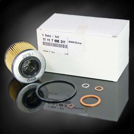 Oil Filter Kit - BMW OEM - F650/CS/GS/Dakar - 11117658311