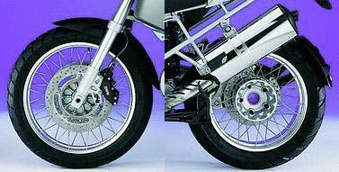 wheels - bmw wire wheel r1200gs (front) - 36317710850 | a&s bmw