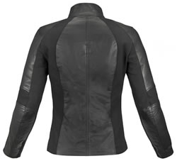 Vika Leather Jacket - back side