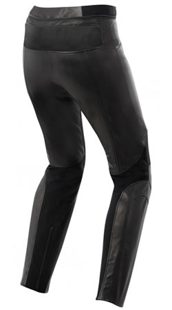 Vika Leather Pants - back side