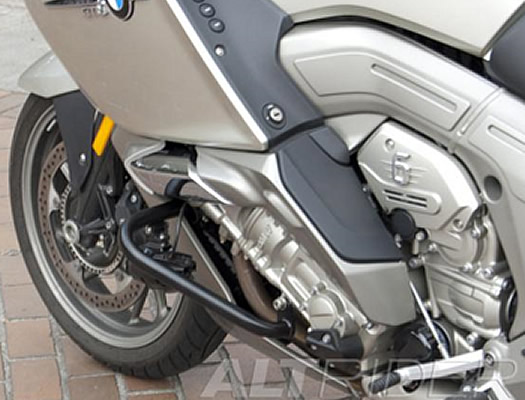 Crash Bars - Engine Guards - Black - BMW K1600GT - by AltRider