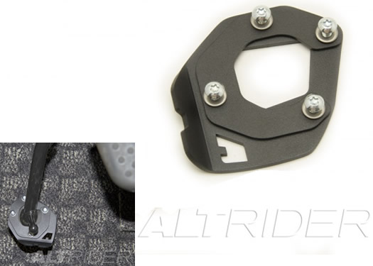 Sidestand Foot Enlarger - Black - BMW K1600GT - by AltRider