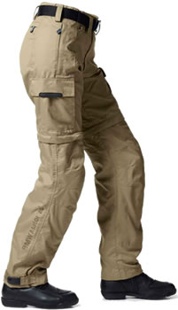 Khaki version of BMW Summer 2 Pants.