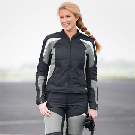 Jacket - AirFlow Jacket - Black - Womens - by BMW - 76138547145