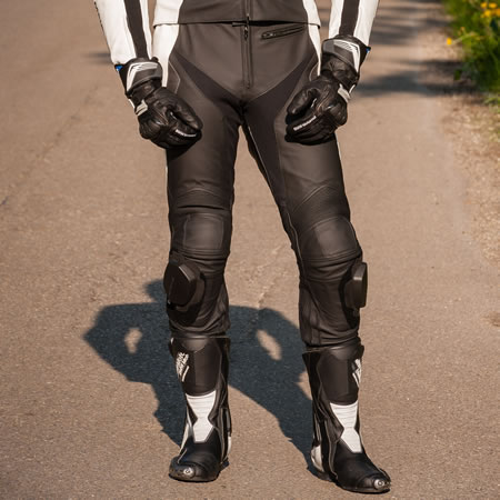 Pant - Sport Leather Pants - Mens - by BMW - 76118548411