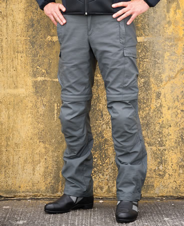 Pant - Summer Riding Pants - Anthracite - by BMW - 76128548358