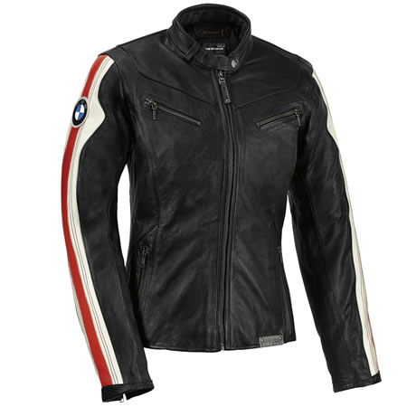 Club Leather Jacket - Womens - by BMW - 76148553468