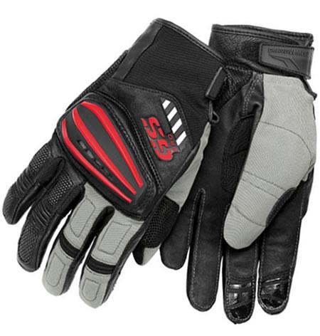 Glove - Rallye Gloves - Black/Grey/Red - by BMW - 76218541213