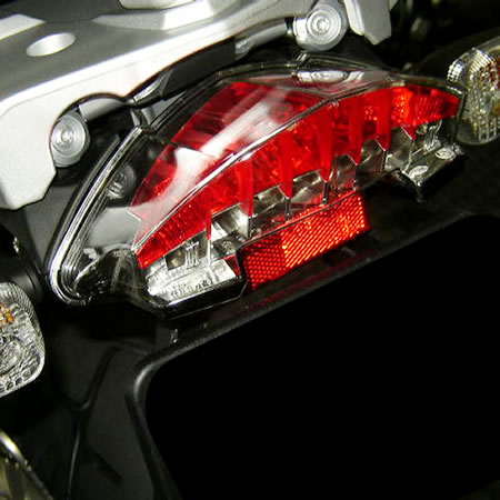 LED Tail Light - R1200GS F800ST F800R - by BMW - 71607703819