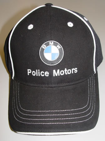 Hat - BMW Police Motors Summer Cap - 72600440700