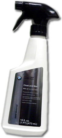 Clean and Wax - 16oz. - by BMW - 82142327628