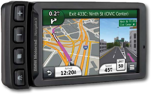 GPS - Navigator V w/ Advance Cradle - by BMW - 77528536090