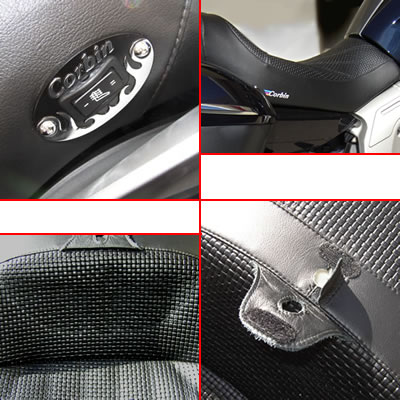 Details of the Corbin Seat for BMW K1600GTL