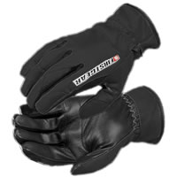 Ultra Mesh Black Gloves