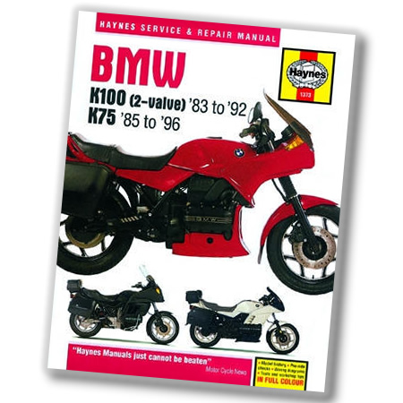 Repair Manual - 1983-1992 BMW K100 2-Valve - by Haynes