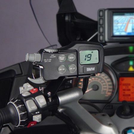 CB Radio - Intercom system - BMW R1200GS Adventure - by J&M Audio
