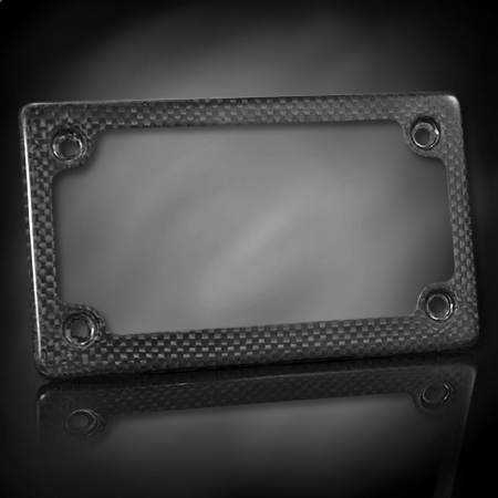 license plate frame carbon fiber by lockhart phillips