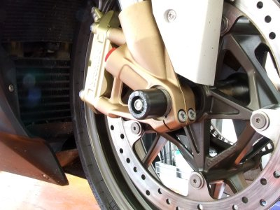 Fork Protectors - BMW S1000RR Motorcycle - by R&G Racing