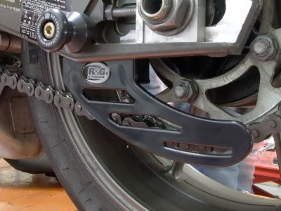 Protection - Toe / Chain Guard - BMW S1000RR - by R&G Racing