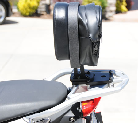 f800gt backrest passenger backrest bmw f800gt f800st by rcu