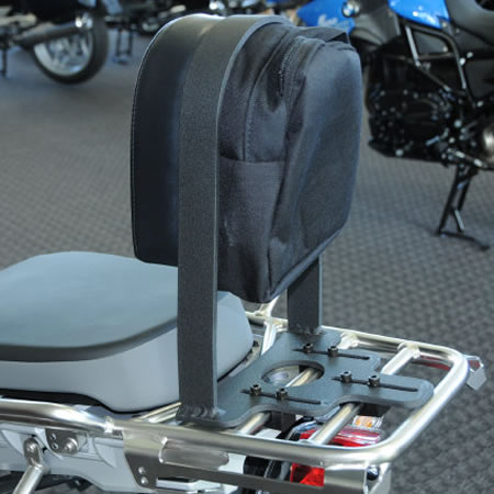 Backrest - Passenger - 2006-13 BMW R1200GS Adventure - by RCU