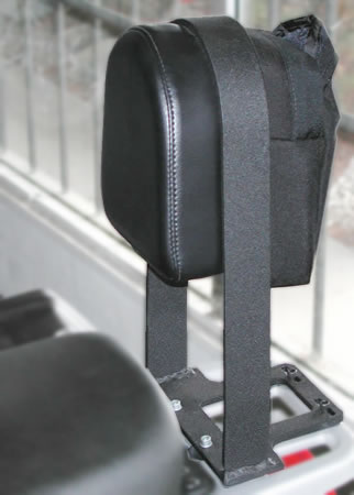 Backrest - Passenger Backrest - BMW R1100GS R1150GS - by RCU